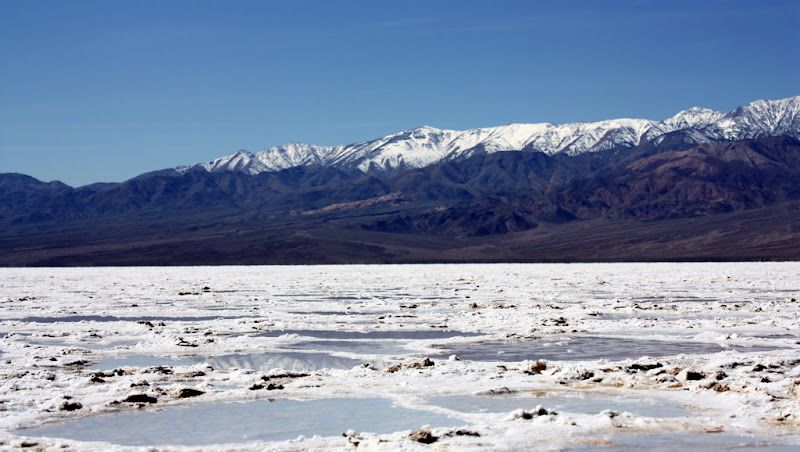 The Salt Flats of Badwater