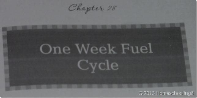 Mini Fuel Cycle