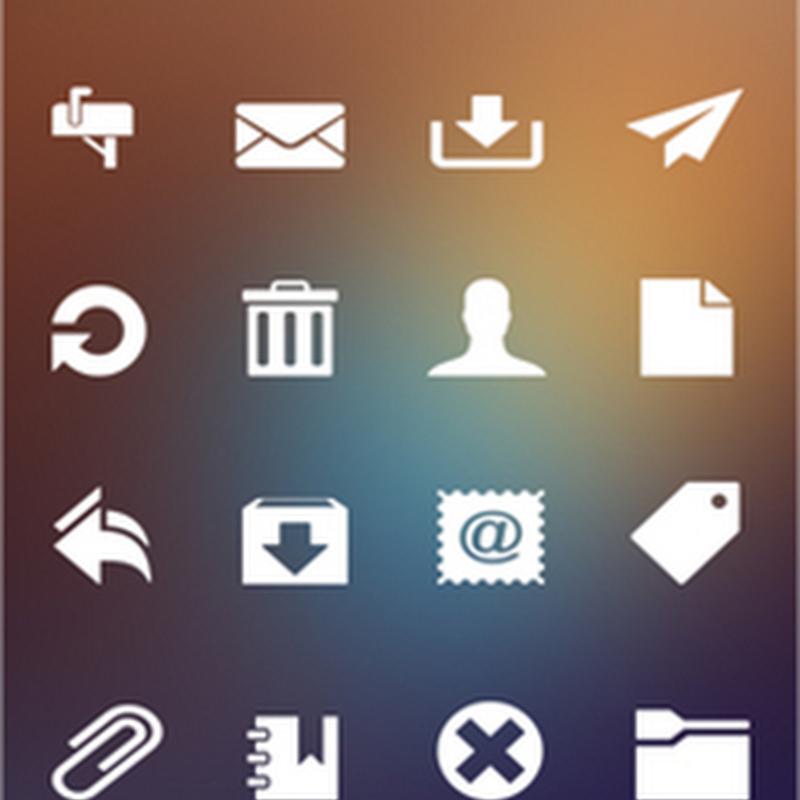 25 paquetes de íconos para nuestras interfaces