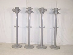 Myers 2000 coat rack in gray