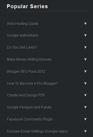 popular series widget for blogger