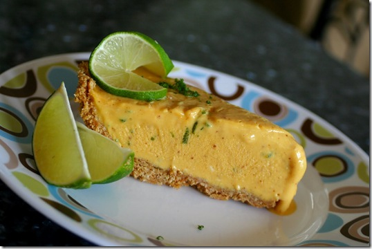 Mango Lime Chili Pie