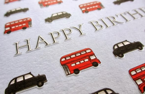 Birthday Card bus and taxi Phoenix published work 2b