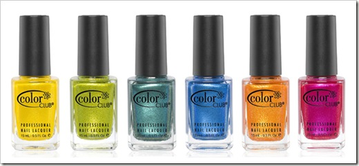 Color Club Take Wing Summer 2012 Collection