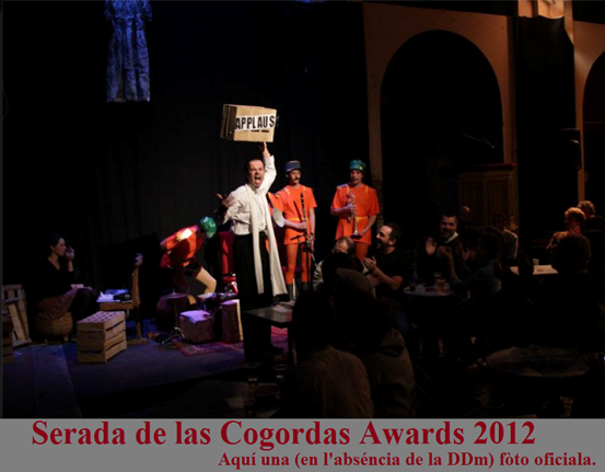 Cogordas awards 2012