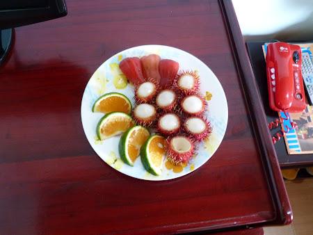 Cazare Vietnam: fruit plate Hotel Hai Au Hoian