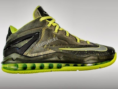 2013 lebron11 low dunkman First Look at Nike LeBron XI Low, aka 9 3/4, in Two Styles