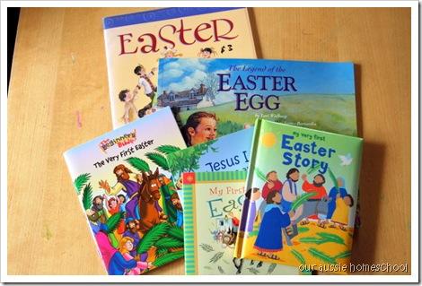 Easter Books ~ Our Aussie Homeschool