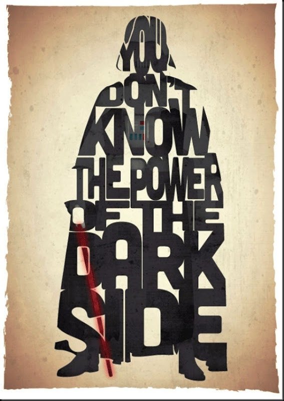 funny star wars movie poster darth vader you don&#39;t know the power of the dark side