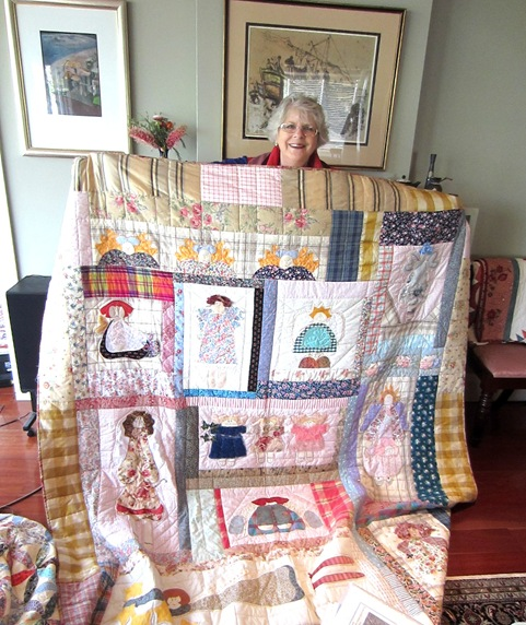 Gail and Quilt2