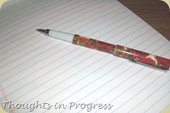 paper, pen
