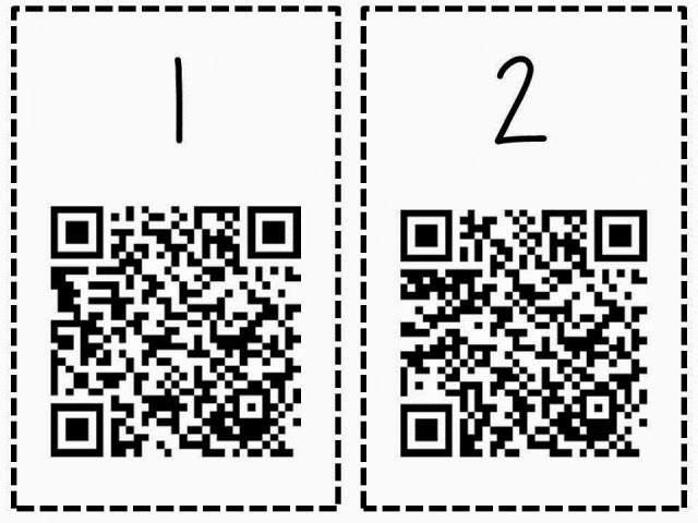 The Reading Corner: How to create a QR Code of an Image!