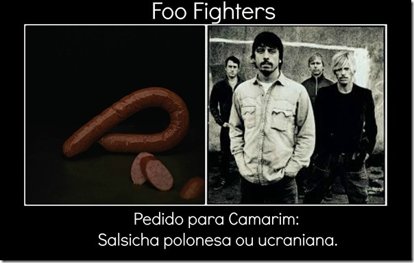 Foo Fighters e pedido