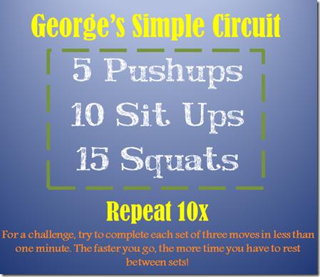 George's Simple Circuit
