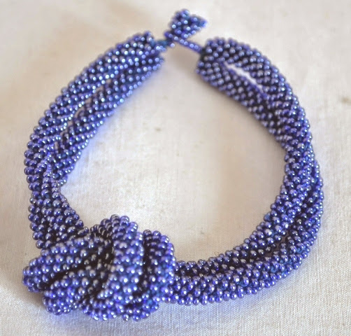 Glass Bead Twisted knotted Bracelets