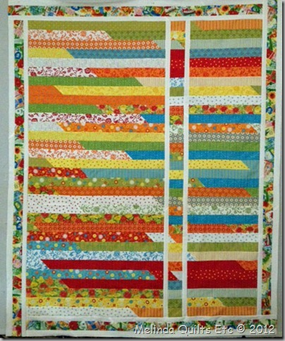 0712 Robin's Jelly Roll Quilt