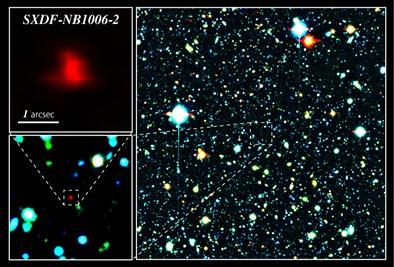 a galáxia SXDF-NB1006-2