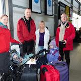 Klar til afrejse fra Odense banegård mod Kastrup d. 3. januar 2013