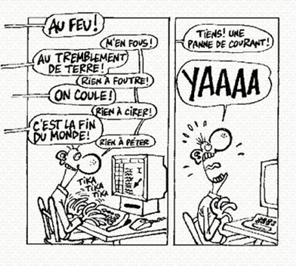 dépendance à internet