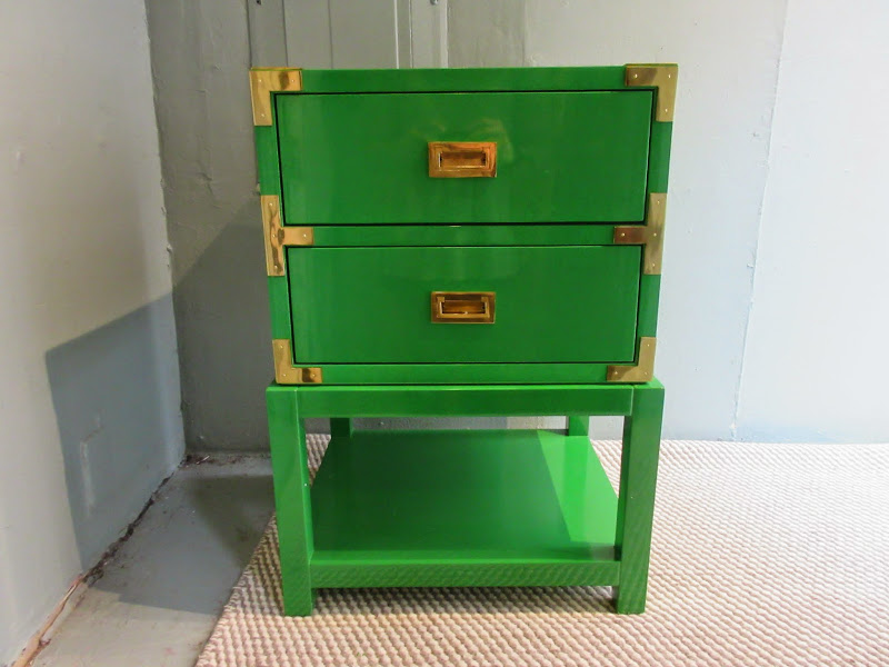 Kelly Green Night STand