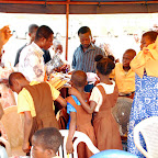 DSC_0277 School Pupils of Kwao Larbi Anglican Primary Trying on their New Uniforms.jpg