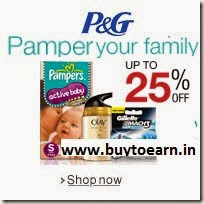 Buy P&G Baby, Beauty, Health & Personal care products upto 37% off from Rs.54