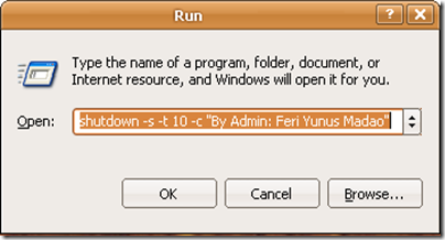 Shutdown Komputer Otomatis