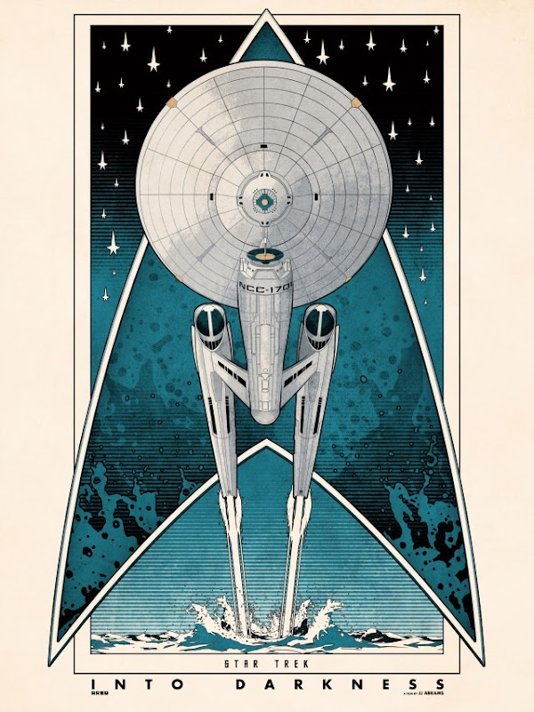 Blurppy Artist Project - Star Trek Movie Posters - Matt Ferguson