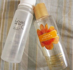lovely meex and victorias secret amber romance shower gel, bitsandtreats