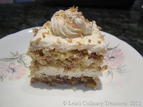 Coconut-pecan cake