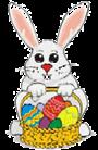 símbolos da páscoa - coelho da páscoa (coelhinho)