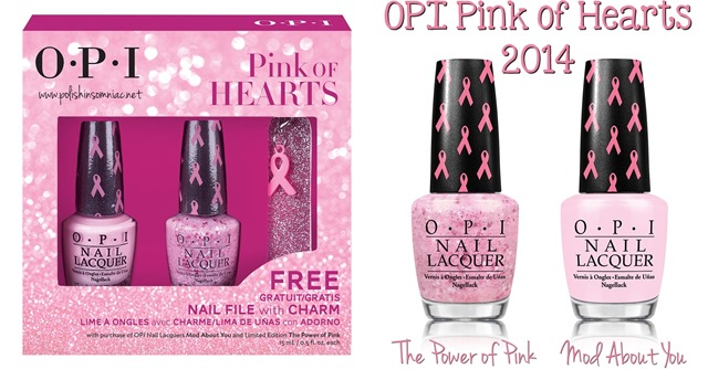 OPI Pink of Hearts 2014 nail polish