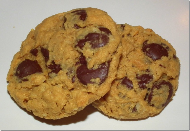 April SRC  Peanut Butter Oat Cookies w/Chocolate 3-23-12