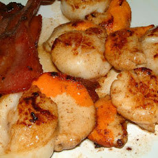 Pan Fried Scallops and Bacon