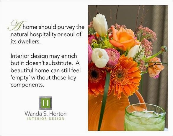 Interior Design Quotes 1 Wanda S. Horton
