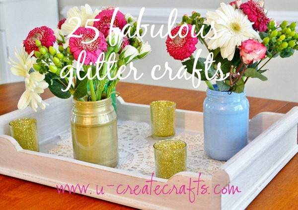 25 Glitter Tutorials!