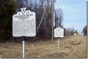 Fredericksburg Campaign, Marker C-55 group with McClellan's Farewell. Click any photo to enlarge.
