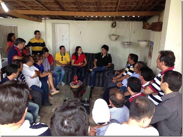 Equador.Reunião com os setores da sociedade