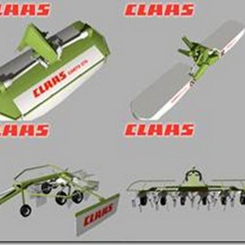 Farming simulator 2011 - CLAAS Grass Silage Pack (taglio del fieno)