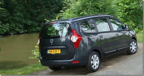 Proefrit Dacia Lodgy 05