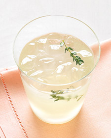 The flavor of thyme in this lemonade lends an unexpected grown-up flair to a summer favorite.