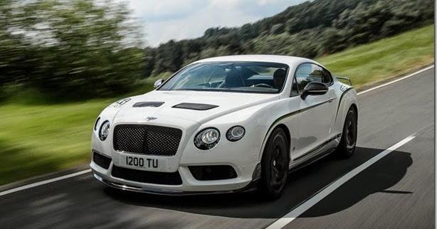 Bentley Continental GT3-R: mais leve e com 580cv