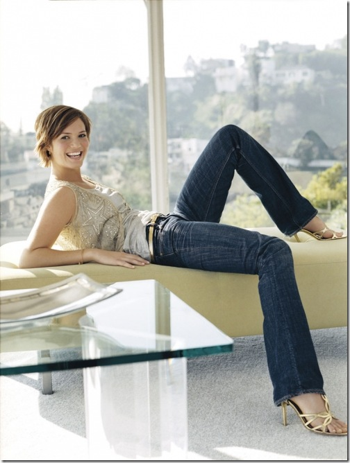 Mandy Moore Blue Jeans