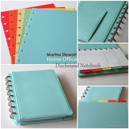 Martha Stewart Notebook (2)