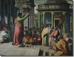 V&A_-_Raphael,_St_Paul_Preaching_in_Athens_(1515)