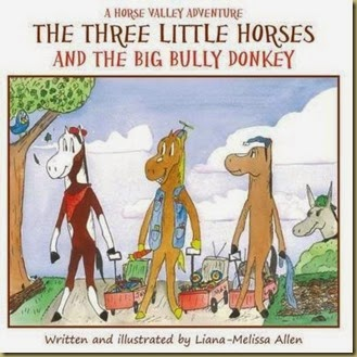 The Three Little Horses and the Big Bully Donkey-1