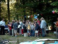 2004. De eindejaarsviering in het openluchttheater in het Laarbos in Ommen (1)
