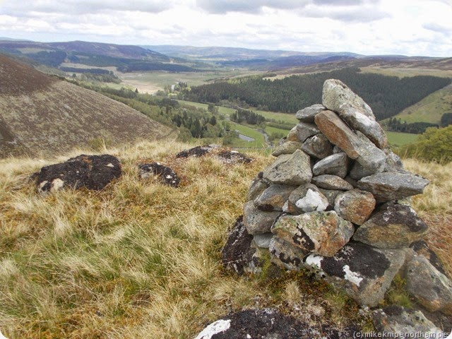 view north from cnoc thulagain