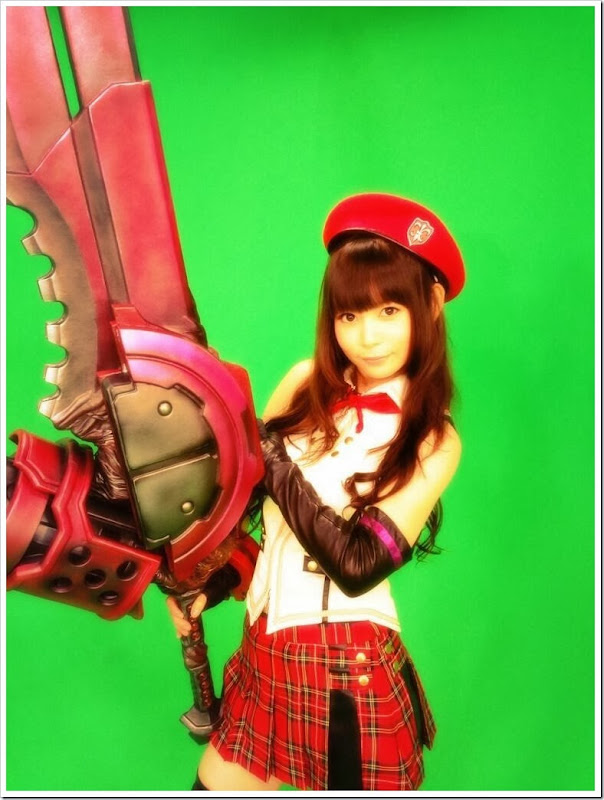 Nakagawa Shouko (Shokotan) – cosplay de God Eater Alisa Amiella 02