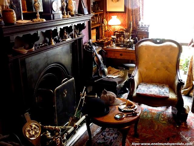 221b de baker street la casa de sherlock holmes en el - Casa de sherlock holmes ...